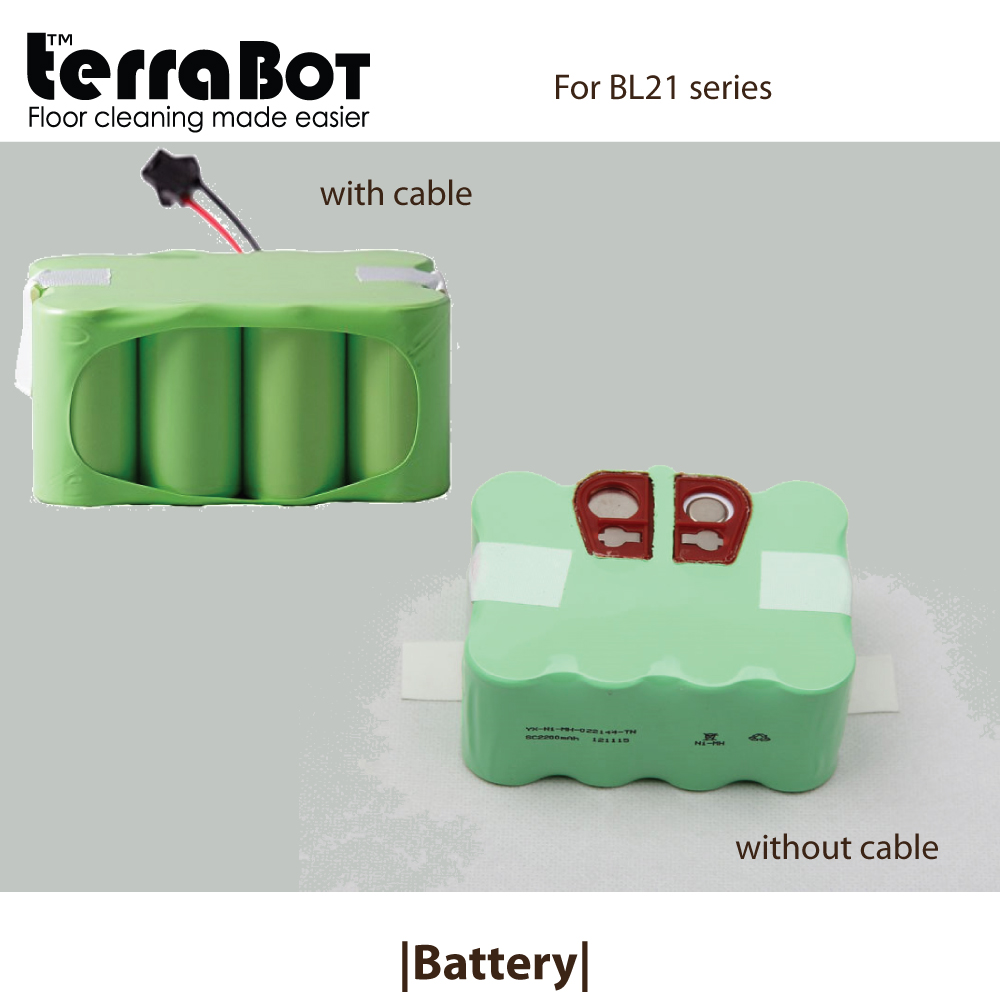 Replacement battery for TerraBot BL21