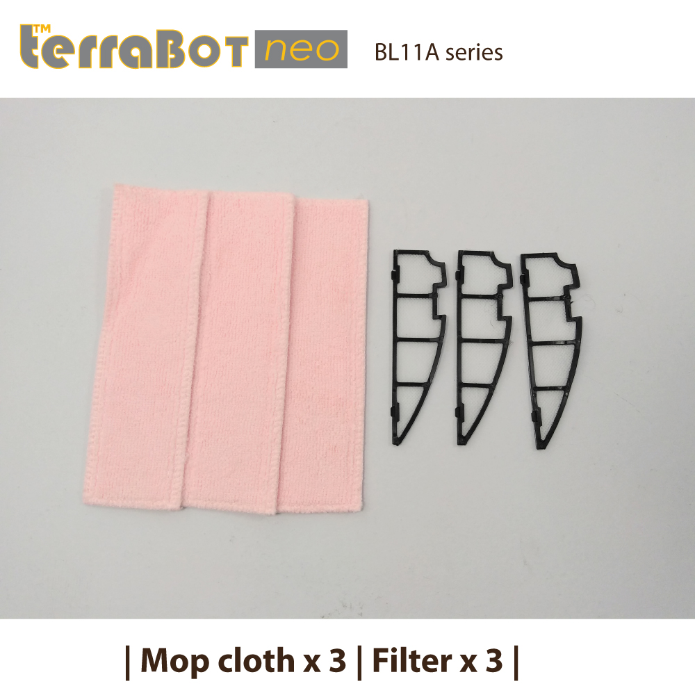 Spare part kit MC3FT3-BL11 for TerraBot neo BL11A
