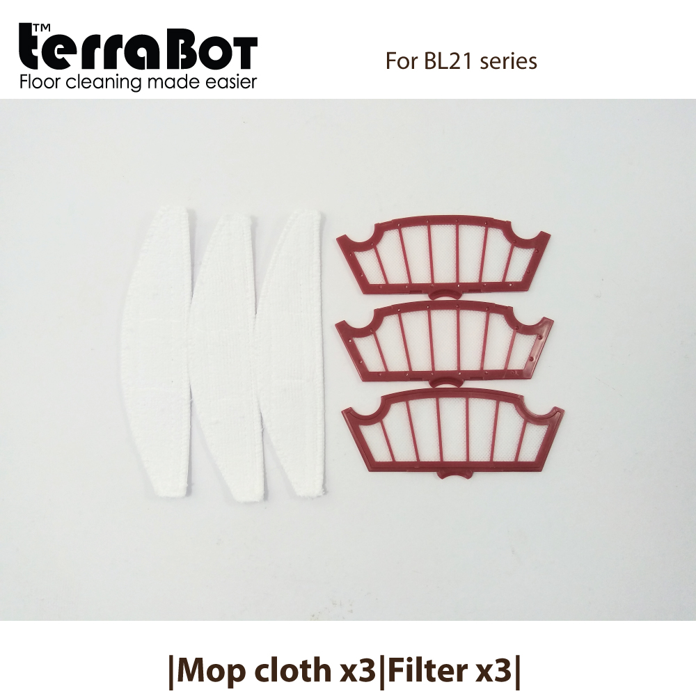 Spare part kit MC3FT3-BL21 for TerraBot BL21