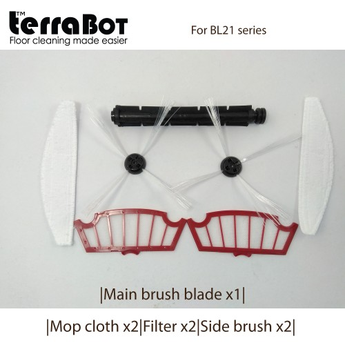 Spare part kit MBB1MC2FT2SB2- BL21for TerraBot BL21