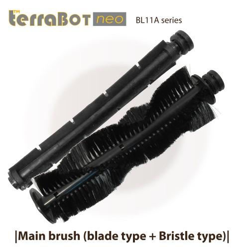 Main brush (bristle type + blade) for TerraBot BL11 series