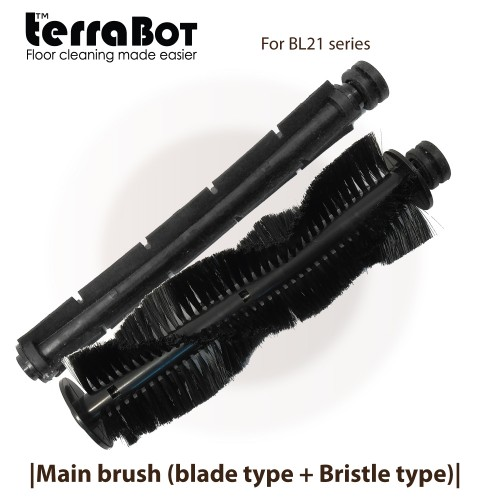 Main brush (bristle type + blade) for TerraBot BL21 series