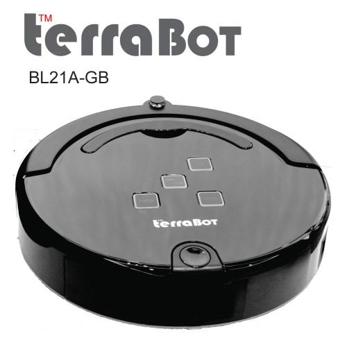TerraBot Glossy BLACK BL21A-GB [1500 sqft]