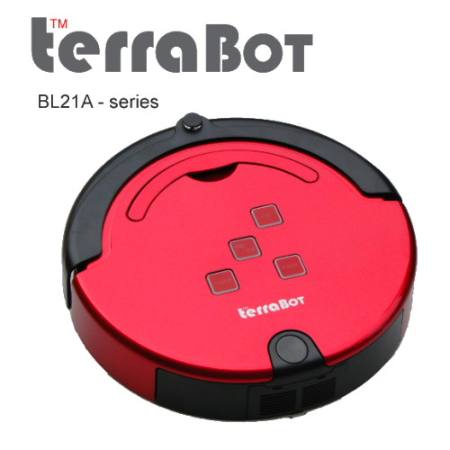 [Upgraded] TerraBot Metallic RED BL21A-MR [1500 sqft]